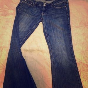 American eagle jeans 8long stretch
